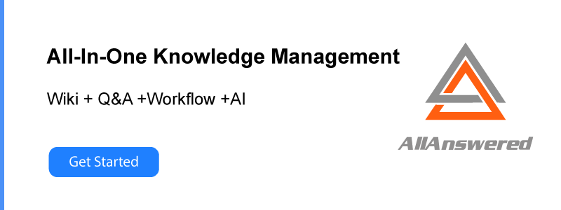 allanswered knowledge management